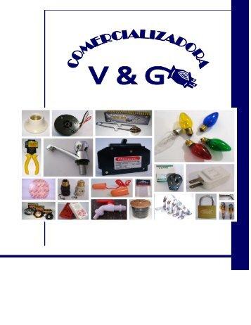 1 V&G. Catálogo 2013 Parte 1 REVISADO