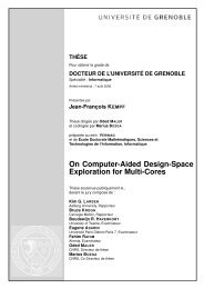 On Computer-Aided Design-Space Exploration for Multi ... - Verimag