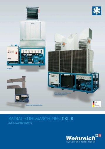 radial-kühlmaschinen kkl-r - Weinreich Industriekühlung GmbH