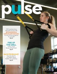 VIVE Health & Fitness   June Prospects