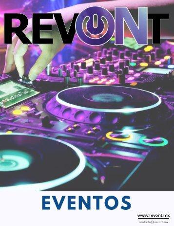 Revont Eventos - Bodas catálogo