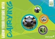 Grow Your Future With Dairying