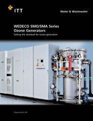 WEDECO SMO/SMA Series Ozone Generators