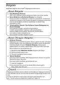 Sony VGX-TP3Z - VGX-TP3Z Guide de dépannage Turc - Page 2