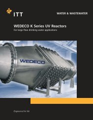 WEDECO K Series UV Reactors
