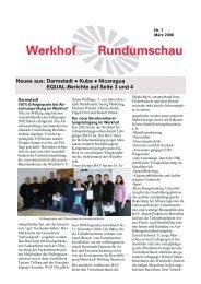Darmstadt Kuba Nicaragua EQUAL-Berichte auf Seite 3 und 4