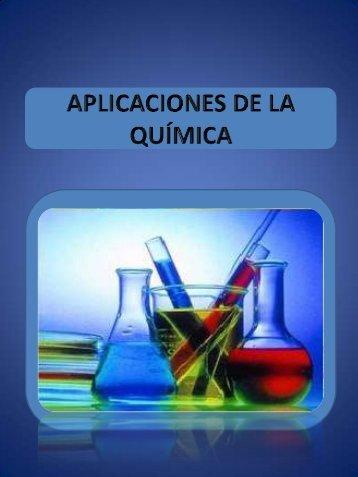 Aplicaciones de la Química