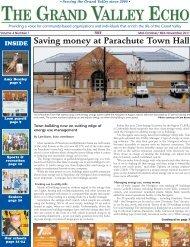 Saving money at Parachute Town Hall - Garfield Clean Energy