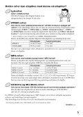 Sony D-NE830 - D-NE830 Mode d'emploi Danois - Page 5