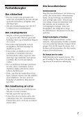 Sony D-NE830 - D-NE830 Mode d'emploi Danois - Page 7