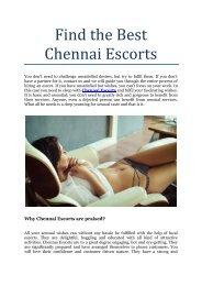 Find the Best Chennai Escorts