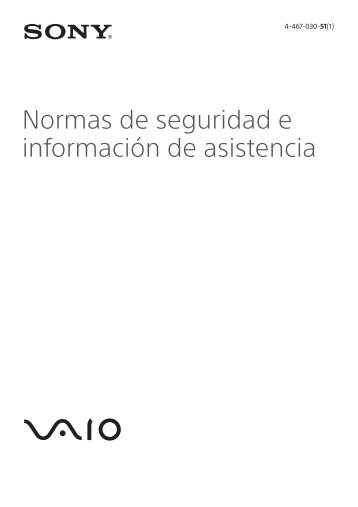 Sony SVS1313D4E - SVS1313D4E Documents de garantie Espagnol