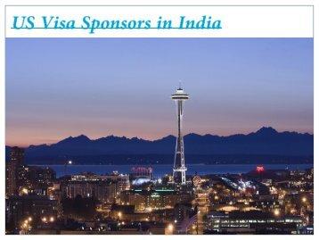 US Visa Sponsors in India