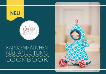 """Lookbook zur Nähanleitung """"Kapuzenmädchen"""" von Lange Hand"""