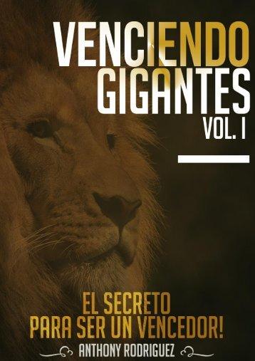 VENCIENDO GIGANTES Vol 1 - ¡El secreto para ser un vencedor!