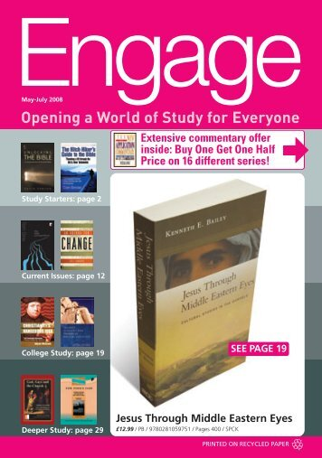 Opening a World of Study for Everyone - Christian Literature Centre