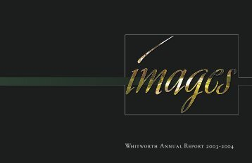 2003-2004 Annual Report - Whitworth University