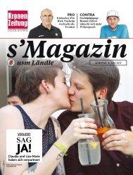 s'Magazin usm Ländle, 4. Juni 2017