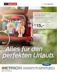 Autohaus Dietrich | Service Sommer 2017