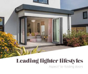 UPVC bi folding door brochure