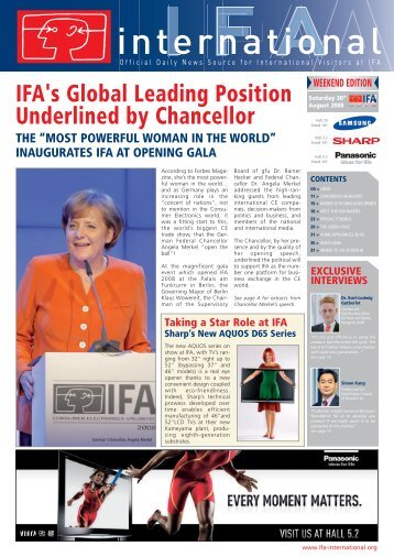 Week-end Edition - Day 2 & Day 3 - IFA International