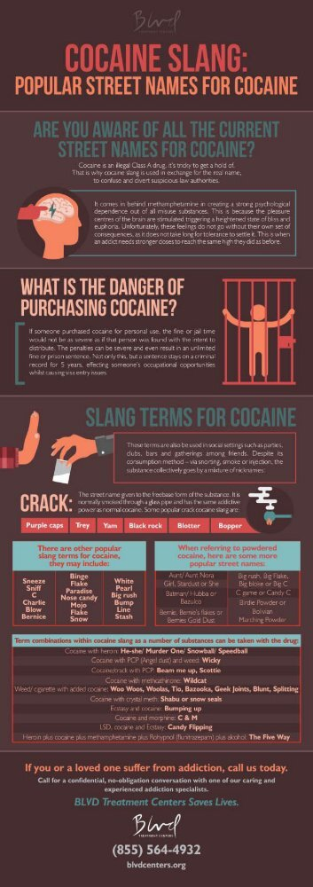 Cocaine Slang -  Popular Street Names for Cocaine
