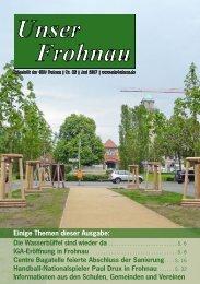 Unser Frohnau 85 (Juni 2017)