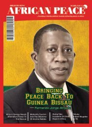 AFRICAN PEACE MAGAZINE MARCH ISSUE