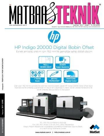 Matbaa Teknik Dergisi Haziran 2017 Sayısı