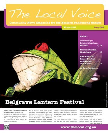 The Local Voice News Magazine Winter 2017
