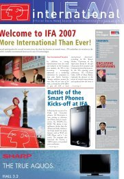 Day 1 - IFA International