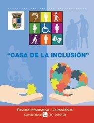 Revista Casa Inclusión Curanilahue, Primera Edición