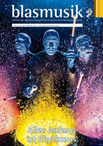 blasmusik Ausgabe Juni 2017