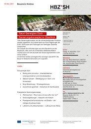 BAUEN IM BESTAND - Baugewerbeverband Schleswig-Holstein