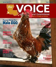 The Voice of Southwest Louisiana News Magazine June 2017