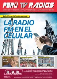 Revista PERU TV RADIOS Edicion MAY-JUN