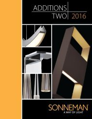 Sonneman Additions Two 2016-DIST