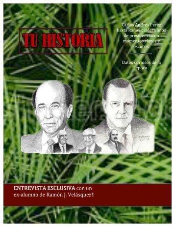 Portada de revista de venezuela