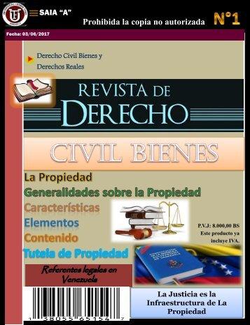 Revista de Derecho civil Bienes. PDF