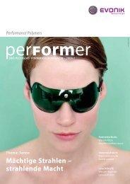 Performance Polymers - PLEXIGLAS® Formmassen