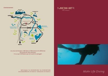 Mohr Life Diving - Mohr Life Resort