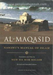 Al-Maqasid - Imam Nawawi (Manual of Islam) in English