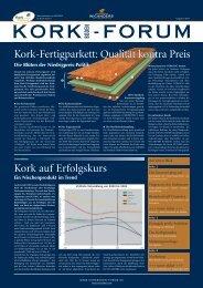 Korkboden-Forum-Newsletter Ausgabe 01-2004