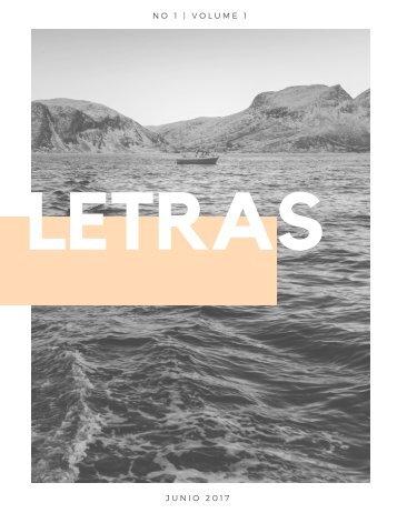 REVISTA LETRAS
