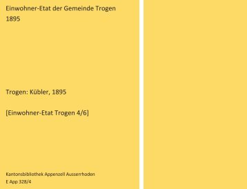 Einwohner-Etat 1895 [4/6]