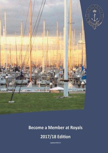 RYCV Membership Brochure 2017-2018