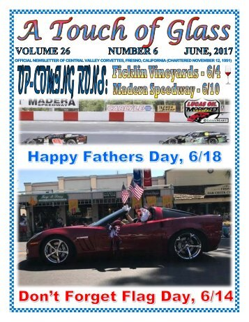 Central Valley Corvettes - June 2017