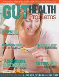 Gut Health Problems - May 2017