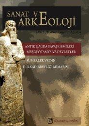 Sanat ve Arkeoloji Dergisi 1. SAYI