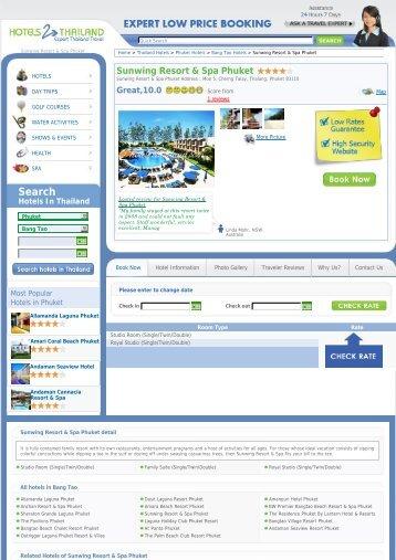 Sunwing Resort & Spa Phuket - Hotels 2 Thailand